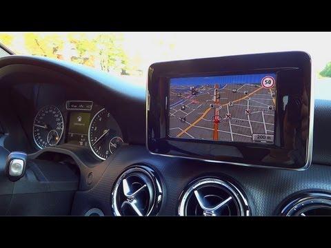 2012 A-Klasse - Mercedes A200 - interior drive [HD]