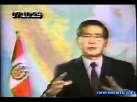 Alberto Fujimori  explica el porqué del autogolpe del 92.(parte I)