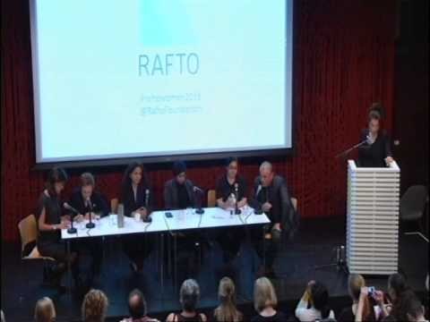 Women's Network panel discussion at Litteraturhuset, Oslo