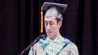 Griffin M. Furlong Valedictorian speech.
