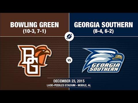 2015 Week 17 - GoDaddy Bowl - Georgia Southern vs Bowling Green