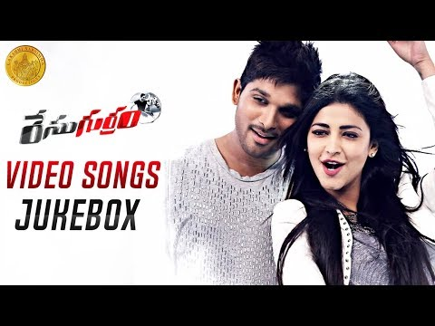 Race Gurram ᴴᴰ Movie Full Songs - Video Jukebox - Allu Arjun, Shruti Haasan, S Thaman video