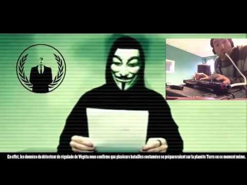 Anonymous intercepte une vidéo