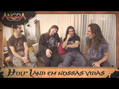 Holy Land em nossas vidas! ft Kiko Loureiro, Rafael Bittencourt, Luis Mariutti, Ricardo Confessori