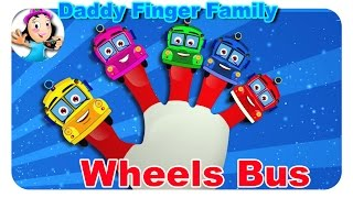 Finger Family Nursery Rhymes | Wheels On The Bus Daddy Finger Family By Nursery Kids