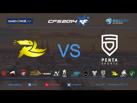 CFS s3 [1/4-4th]| ruLugends(Russia) vs  Penta eSports(Europe) @ Port