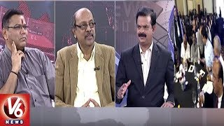 Special Debate - Telangana Bags Prestigious State Of The States Award | 7 PM Discussion