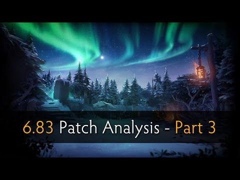 Dota 2  Patch Analysis 683 with SUNSfan  syndereN  Part 3