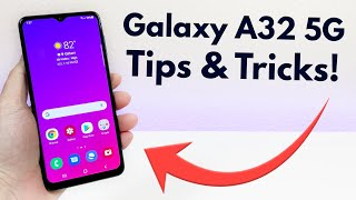 Samsung Galaxy A32 5G - Tips & Tricks! (Hidden Features)
