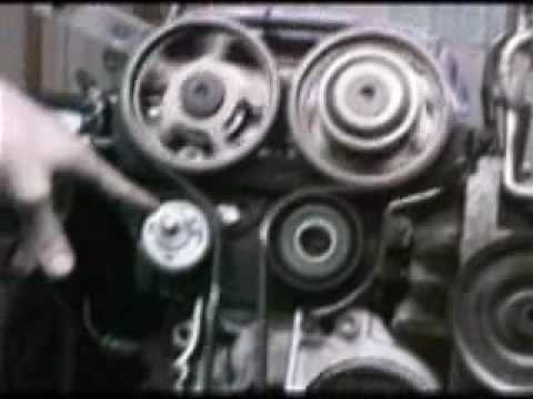 How to change 1998 ford escort timing belt
