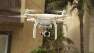 Watch this Neighbor Swat a Drone out of the Sky and Shatter It to Pieces
