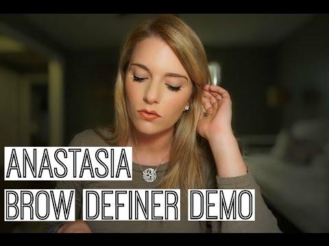 Anastasia Brow Definer Blonde: First Impression. Demo. Review & Comparison