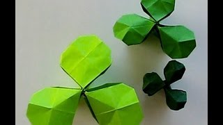 St. Patrick's Day - Origami Shamrock