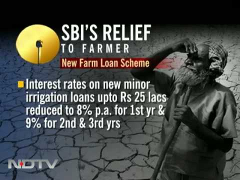 SBI cuts interest rates for drought-hit farmers