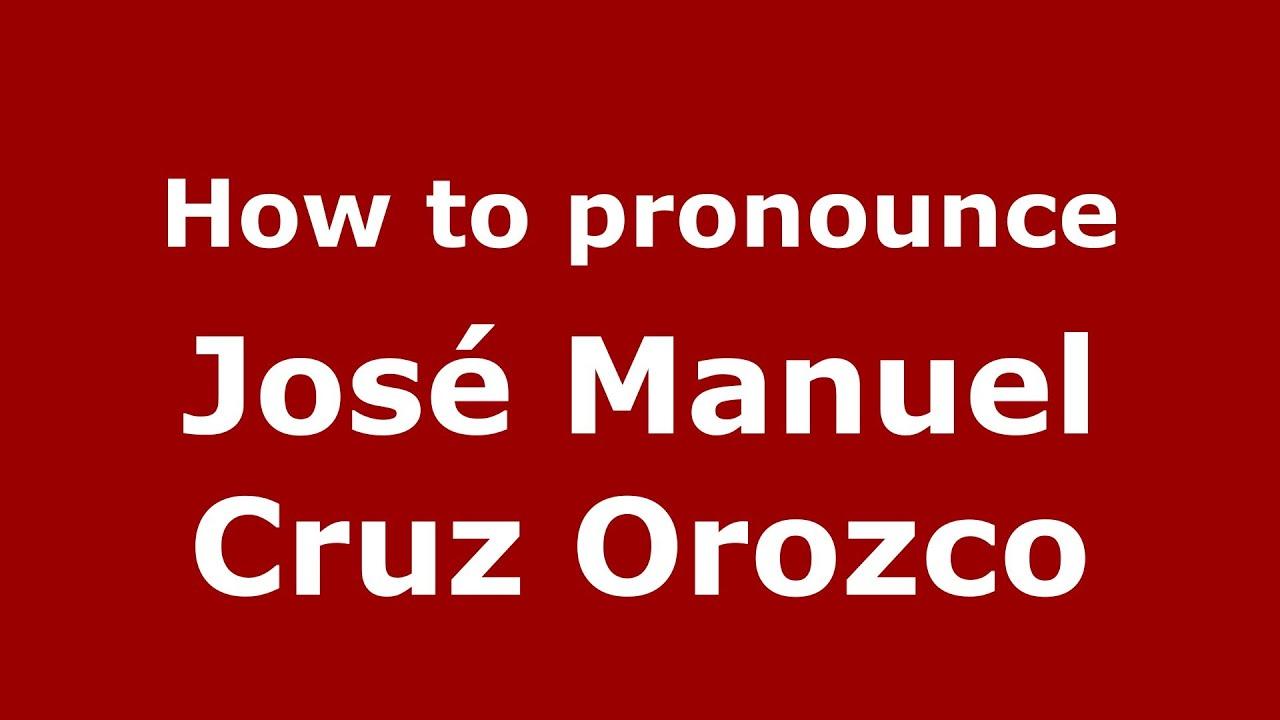 Manuel Cruz Silencio Pronounce José Manuel Cruz