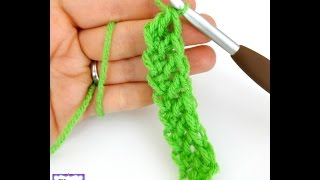 Episode 196: How To Crochet the Foundation Double Crochet Stitch (fdc)