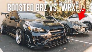 I BROKE MY WRX RACING TJ HUNT'S BOOSTED BRZ
