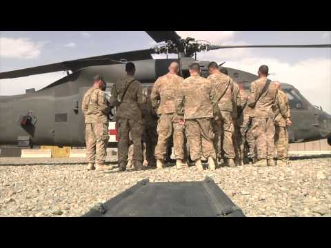 Alpha Company 10th BSB Medevac Training