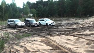 "q7 ""offroading"" in sand 4"