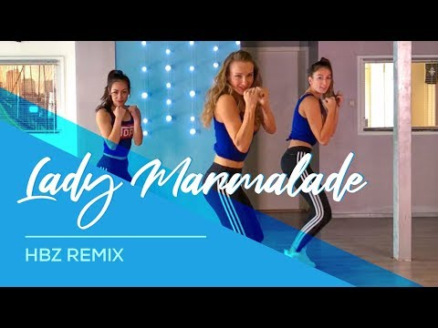 Lady Marmalade - Hbz Remix - Easy Fitness Combat Dance Video - Choreography