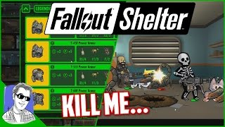 Fallout Shelter Vault 628 All The Power Armor EP30