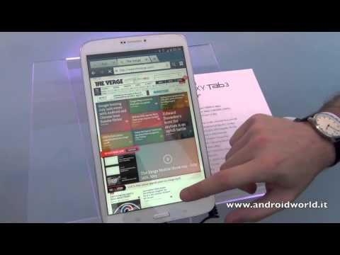 Samsung Galaxy Tab 3. anteprima in italiano by AndroidWorld.it
