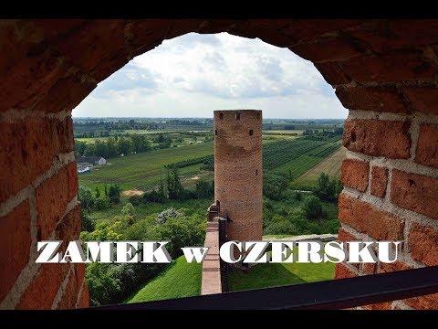 Zamek W Czersku -  Zamki Polskie, Zwiedzanie Mazowsza. Czersk Castle In Poland.