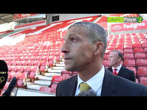 Chris Hughton On Norwich City's 1-0 Win At Stoke
