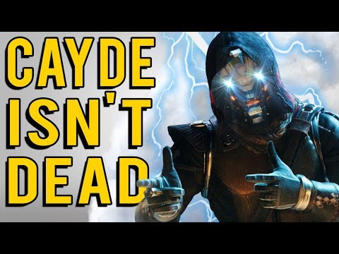 Why Cayde 6 Doesn't Really Die in Destiny 2 Forsaken thumbnail