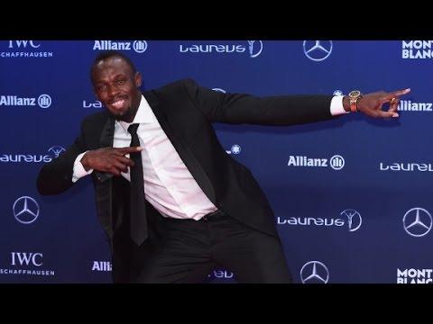 Usain Bolt wins Laureus Sportsman of the Year