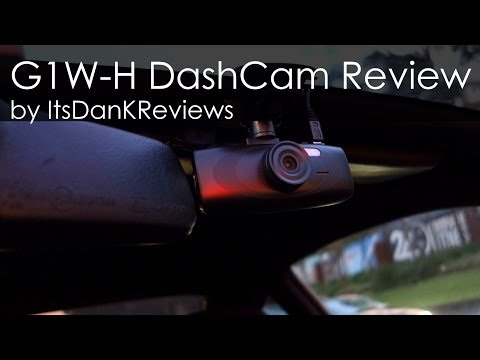 G1WH Dash Cam Review and Install Guide