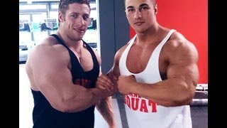 Dennis Arnold VS Tim Budesheim Back and Biceps Workout