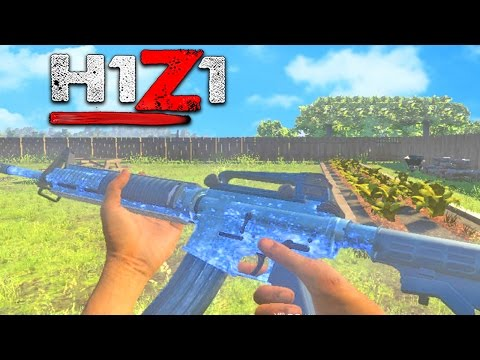 H1Z1 - THE FROST AR SKIN!?! (H1Z1 King Of The Kill)