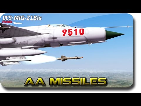 DCS: Mig-21BIS ► Guided AA Missiles Tutorial (Livestream Highlight)