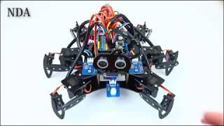 Chế tạo Robot Nhện 6 Chân từ Arduino