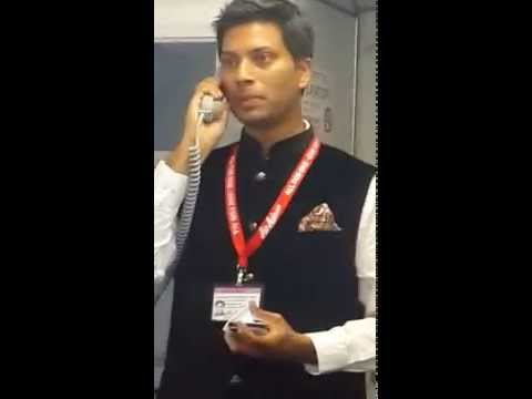 Mittu Chandilya CEO AirAsia India thanking all passengers on maiden flight to Goa