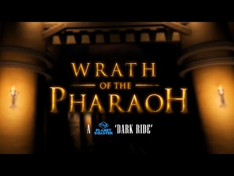 Wrath Of The Pharaoh - A Planet Coaster Egyptian Dark Ride