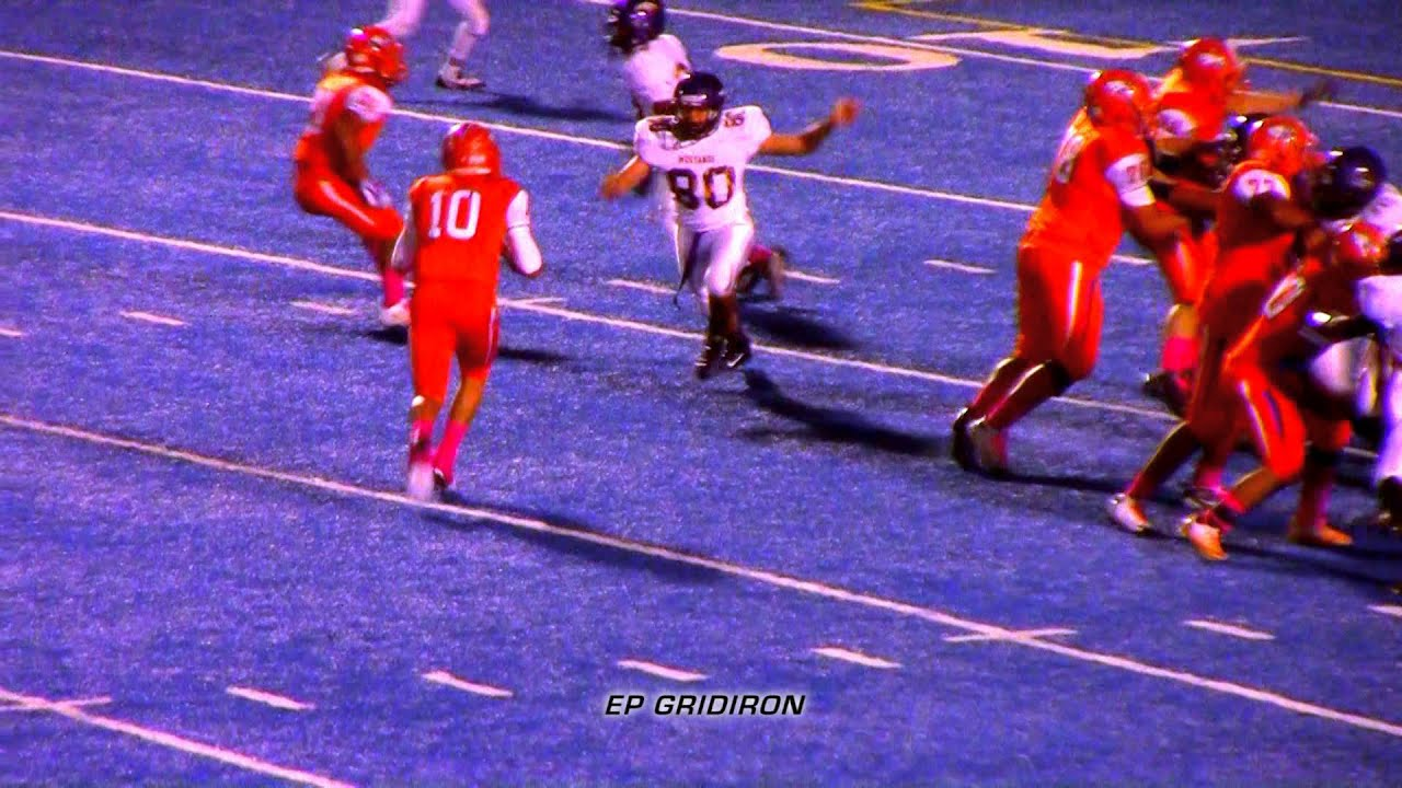Texas Canutillo High Qb Javier Gomez 2014 Season Youtube