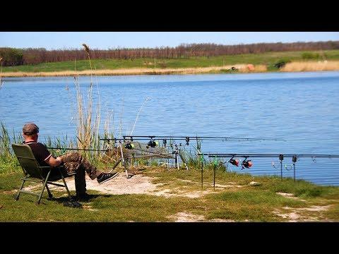 Ловля карпа на бойлы. Неожиданный конец рыбалки. Марьевское водохранилище 13-14.05.2017