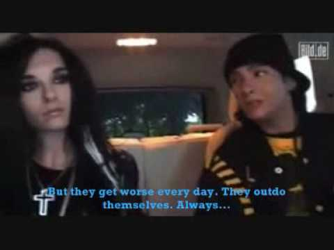 (Subtitled in English) Bill & Tom Kaulitz talking bad about themselves (Bild.de 22.09.09)