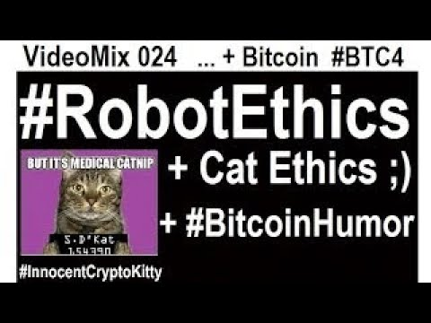 Download video VideoMix 024 Robot Ethics Future SciFi 3D Ai Philosophy Bitcoin Humor BTC4 IT Funny Money