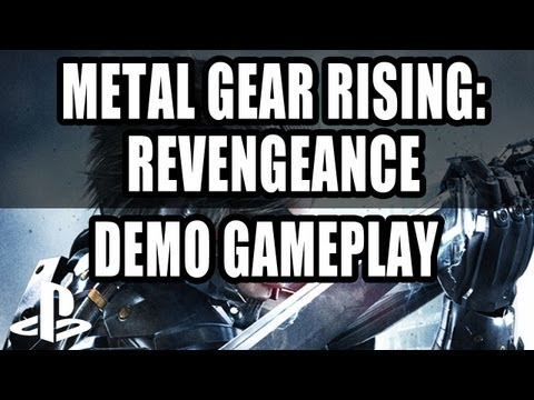 Metal Gear Rising: Revengeance Gameplay PS3 Demo (Let s Play)
