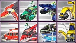 Dino Robot Corps #22: Pteranodon & Transformers | Eftsei Gaming