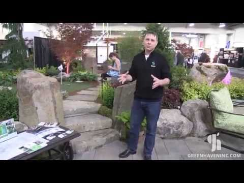 Outdoor Landscaping Stone Steps - Greenhaven Landscapes in Vancouver WA