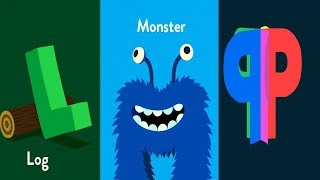 Fun Learning  The Alphabet K to Z  with Metamorphabet part 2