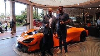 HÄKKINEN reçoit sa McLaren 720S GT3 à Monaco ! Pilote de Formule 1