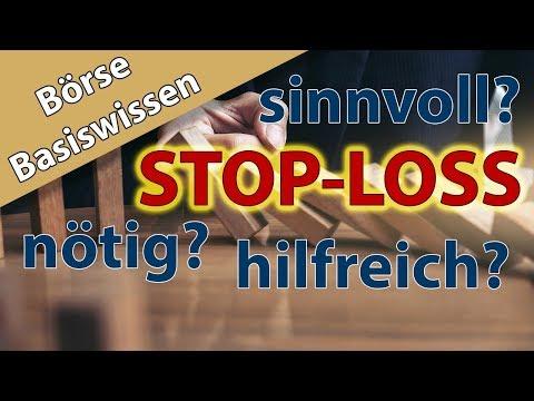 Einfach erklärt: Stop-Loss-Order – Sinnvoll für Privatanleger? Basiswissen Börse mit Andreas Franik