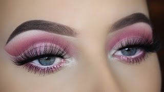 Pink Cut Crease Eye Makeup Tutorial