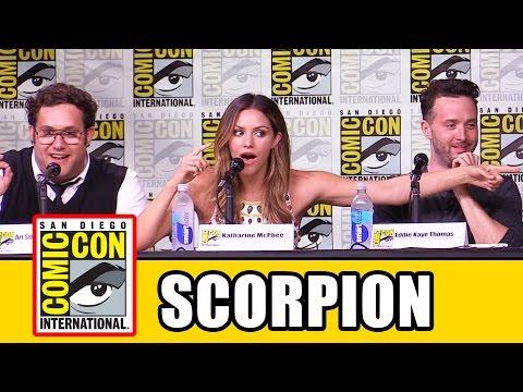 SCORPION Comic Con Panel - Katharine McPhee, Jadyn Wong, Eddie Kaye Thomas, Ari Stidham, Season 3 streaming vf