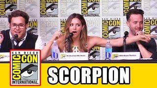 SCORPION Comic Con 2016: Season 3 News, Katharine McPhee, Jadyn Wong, Eddie Kaye Thomas, Ari Stidham